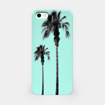 Miniature de image de Boho Palm Trees Dream #1 #minimal #tropic #decor #art iPhone-Hülle, Live Heroes