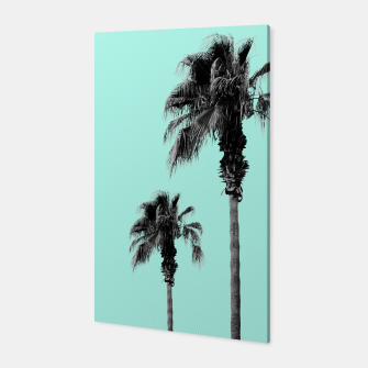 Miniaturka Boho Palm Trees Dream #1 #minimal #tropic #decor #art Canvas, Live Heroes