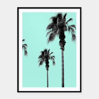 Miniaturka Boho Palm Trees Dream #1 #minimal #tropic #decor #art Plakat mit rahmen, Live Heroes