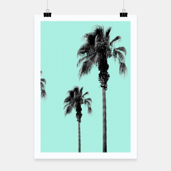 Miniatur Boho Palm Trees Dream #1 #minimal #tropic #decor #art Plakat, Live Heroes