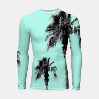 Miniature de image de Boho Palm Trees Dream #1 #minimal #tropic #decor #art Longsleeve rashguard, Live Heroes