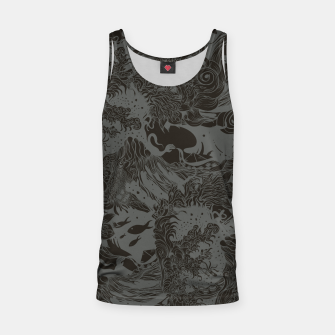 Imagen en miniatura de Big waves Dark Tank Top, Live Heroes