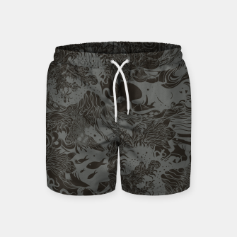 Miniatur Big waves Dark Swim Shorts, Live Heroes