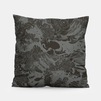 Miniatur Big waves Dark Pillow, Live Heroes