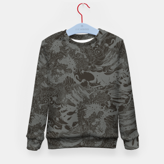 Miniatur Big waves Dark Kid's sweater, Live Heroes