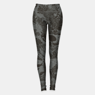 Miniatur Big waves Dark Leggings, Live Heroes