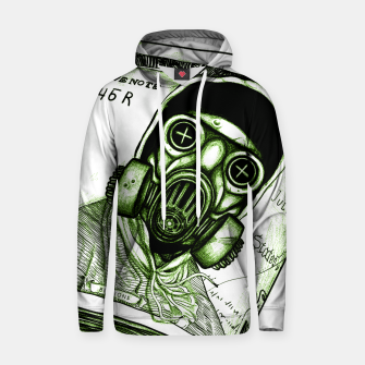 Thumbnail image of Gas Mask Dollar Hoodie, Live Heroes