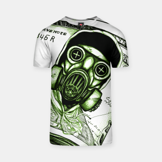 Gas Mask Dollar T-shirt Bild der Miniatur