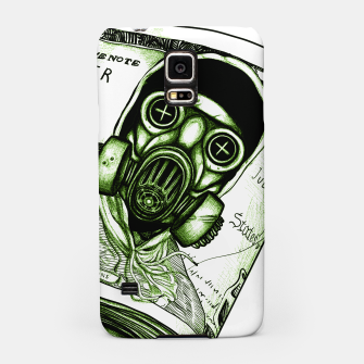 Miniatur Gas Mask Dollar Samsung Case, Live Heroes
