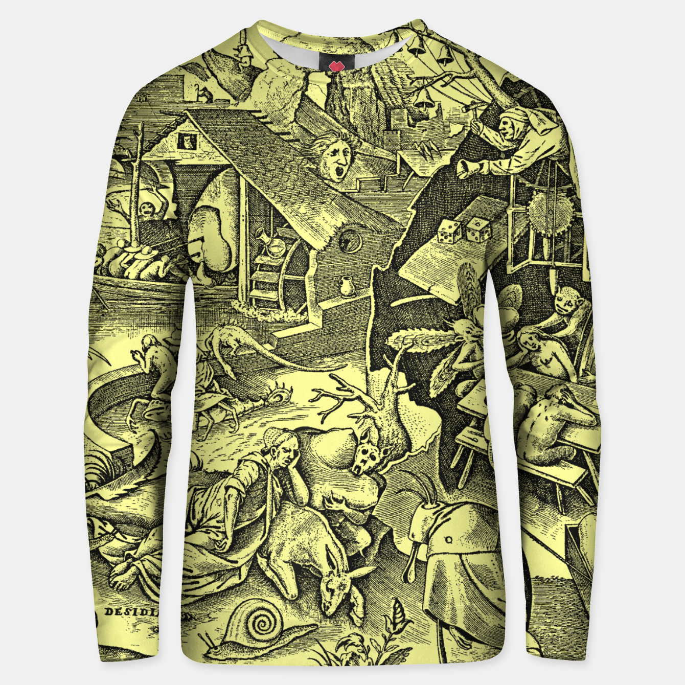 Zdjęcie Brueghel-The Seven Virtues (Depression without joy)  Unisex sweater - Live Heroes