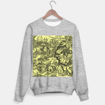 Miniaturka Brueghel-The Seven Virtues (Depression without joy)  Sweater regular, Live Heroes