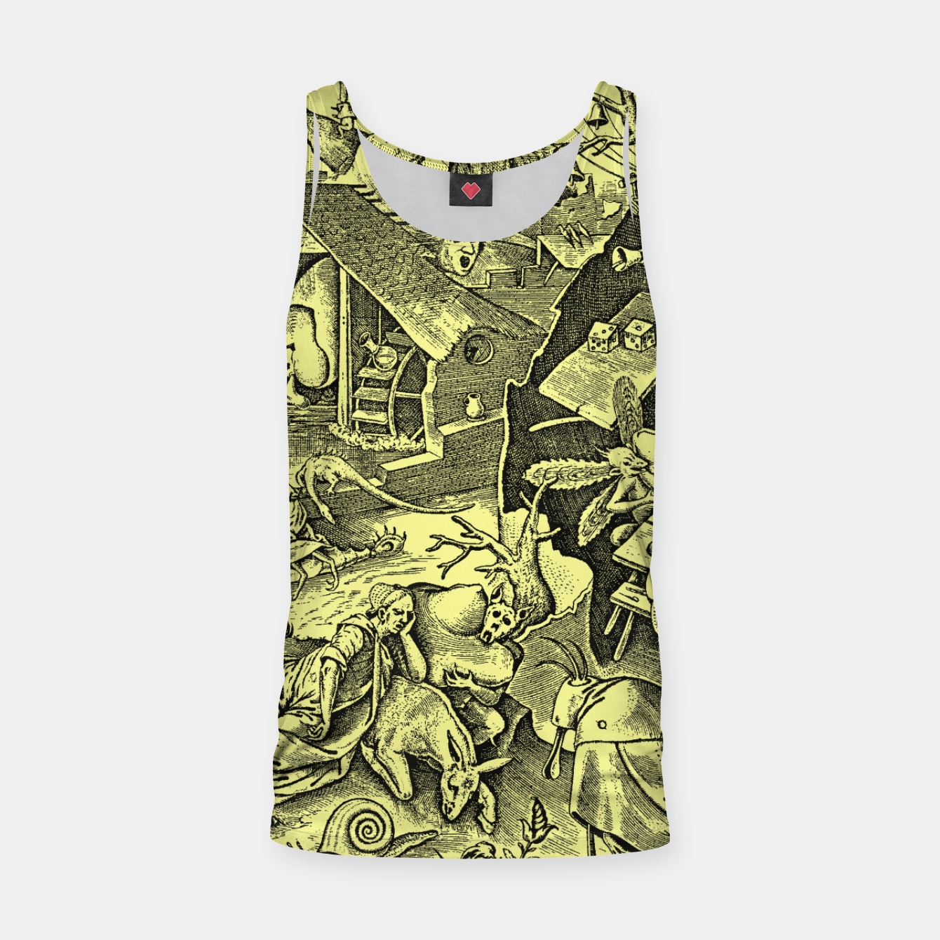 Zdjęcie Brueghel-The Seven Virtues (Depression without joy)  Tank Top - Live Heroes