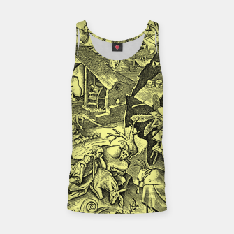 Brueghel-The Seven Virtues (Depression without joy)  Tank Top obraz miniatury