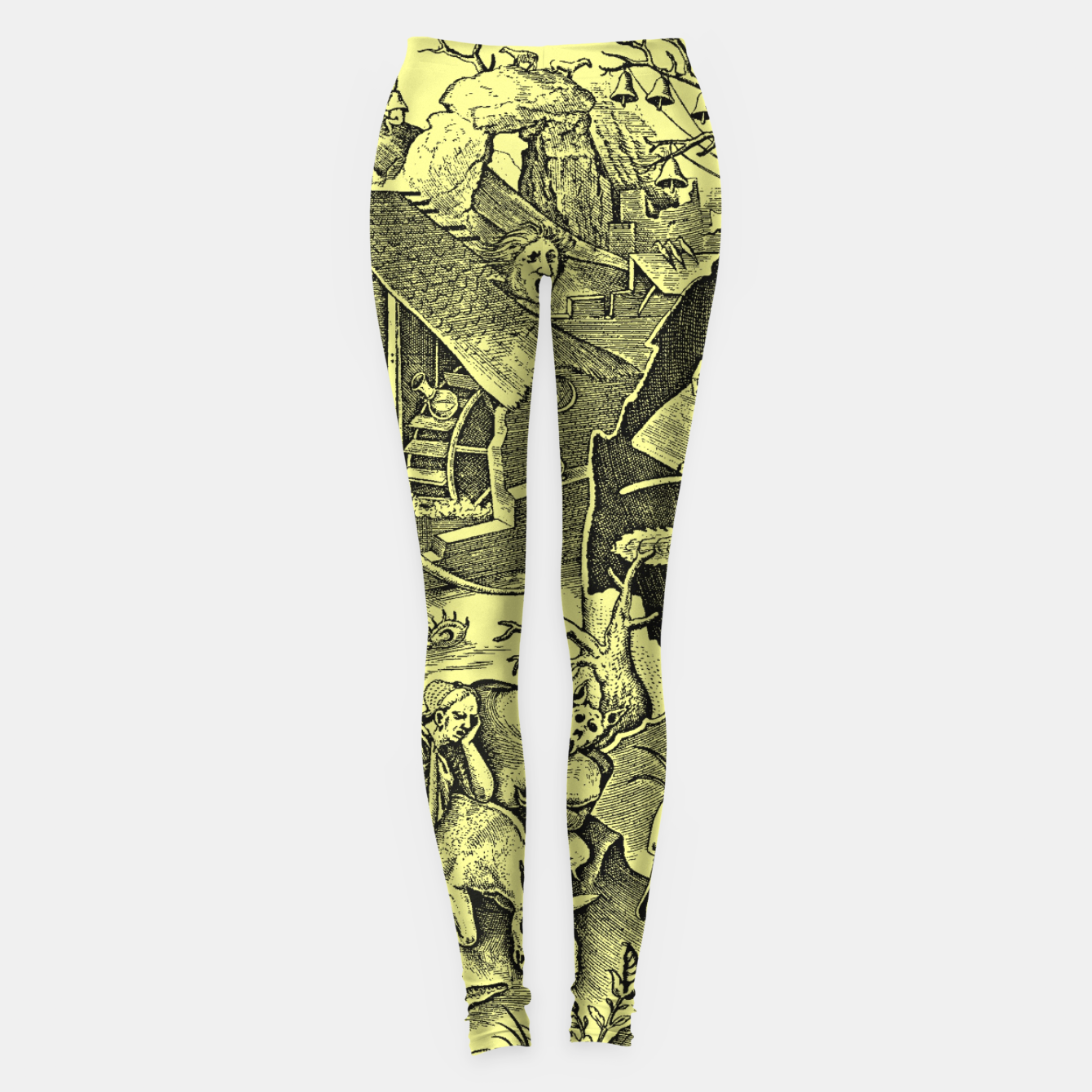 Zdjęcie Brueghel-The Seven Virtues (Depression without joy)  Leggings - Live Heroes