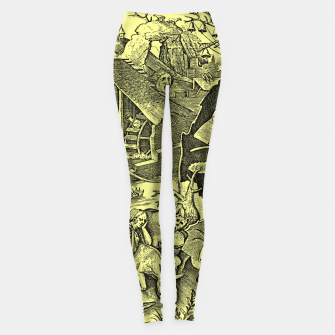 Miniaturka Brueghel-The Seven Virtues (Depression without joy)  Leggings, Live Heroes