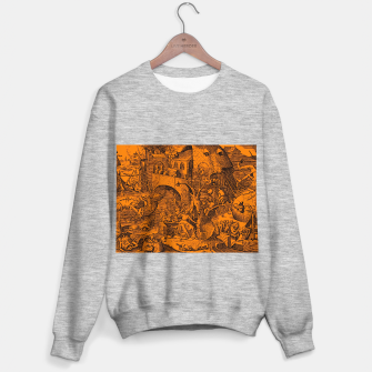 Brueghel-The Seven Virtues (Envy) Sweater regular obraz miniatury