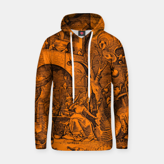 Brueghel-The Seven Virtues (Envy) Hoodie obraz miniatury