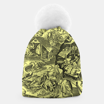 Miniaturka Brueghel-The Seven Virtues (Depression without joy)  Beanie, Live Heroes