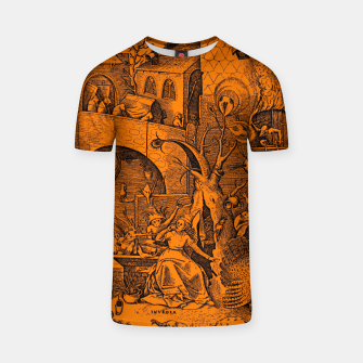 Brueghel-The Seven Virtues (Envy) T-shirt obraz miniatury
