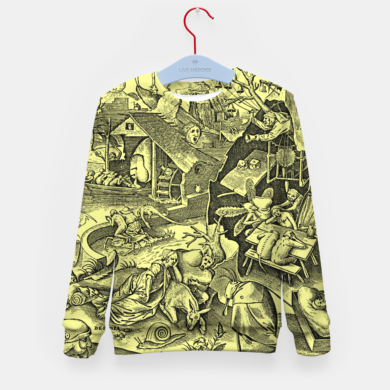 Zdjęcie Brueghel-The Seven Virtues (Depression without joy)  Kid's sweater - Live Heroes