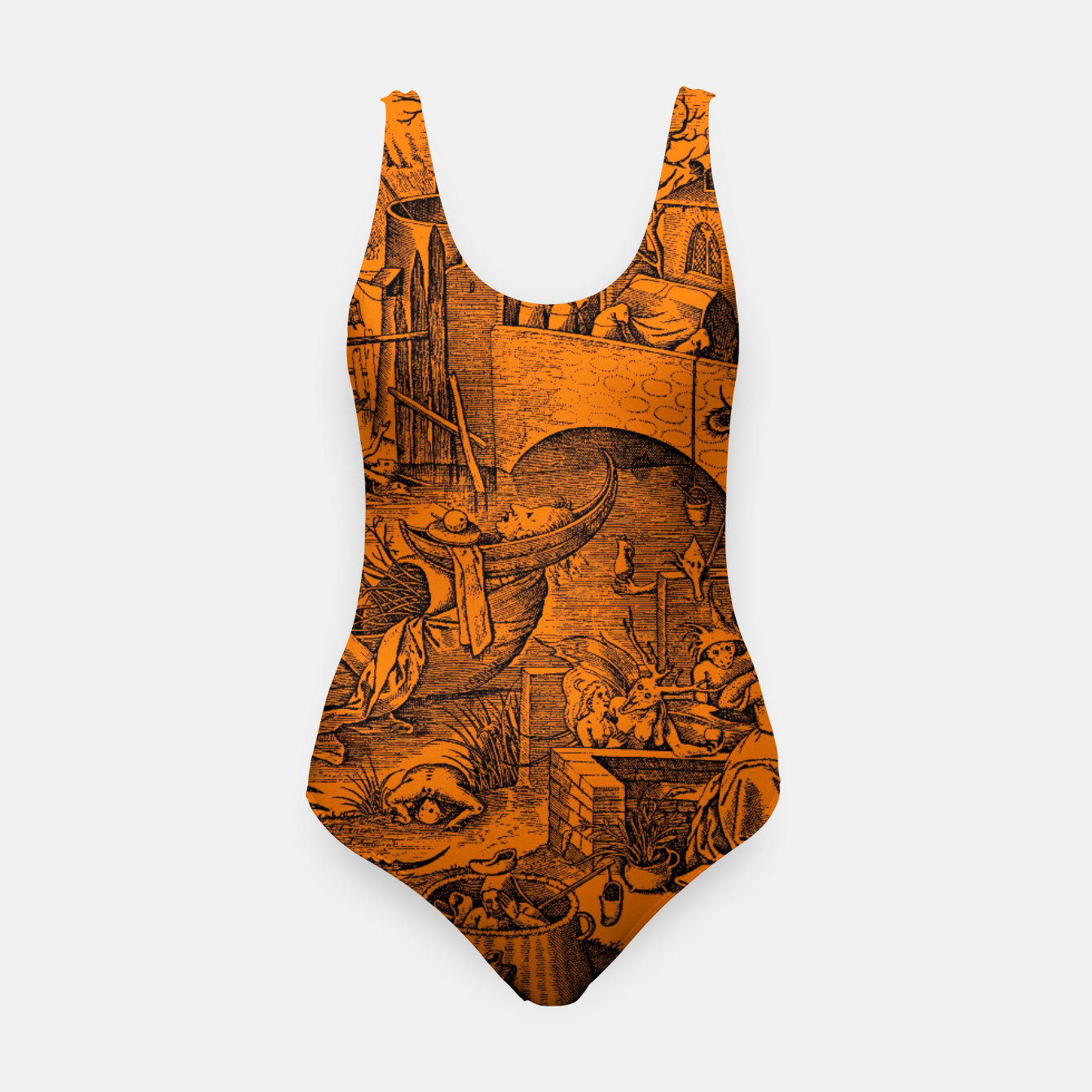 Zdjęcie Brueghel-The Seven Virtues (Envy) Swimsuit - Live Heroes