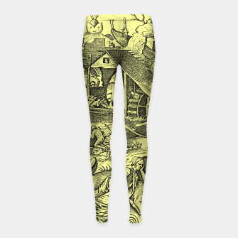Miniaturka Brueghel-The Seven Virtues (Depression without joy)  Girl's leggings, Live Heroes