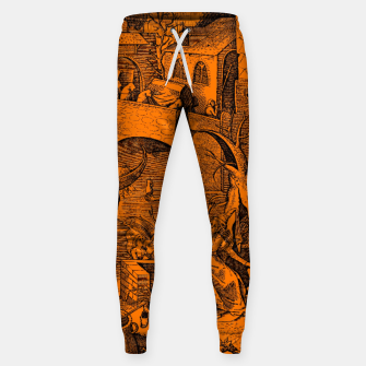 Brueghel-The Seven Virtues (Envy) Sweatpants obraz miniatury