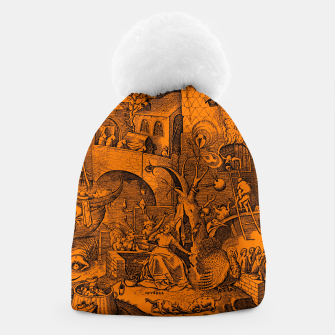 Brueghel-The Seven Virtues (Envy) Beanie obraz miniatury