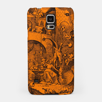 Brueghel-The Seven Virtues (Envy) Samsung Case obraz miniatury