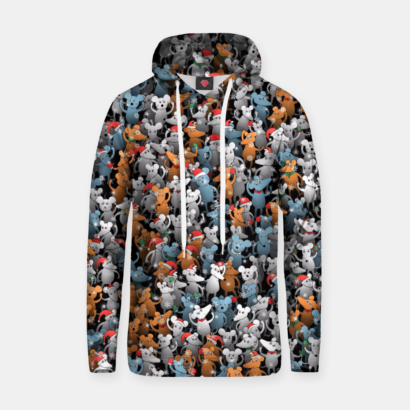 Image of Mouse New Year Hoodie - Live Heroes