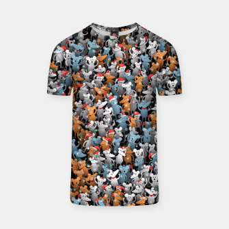 Mouse New Year T-shirt thumbnail image