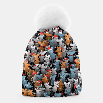 Thumbnail image of Mouse New Year Beanie, Live Heroes