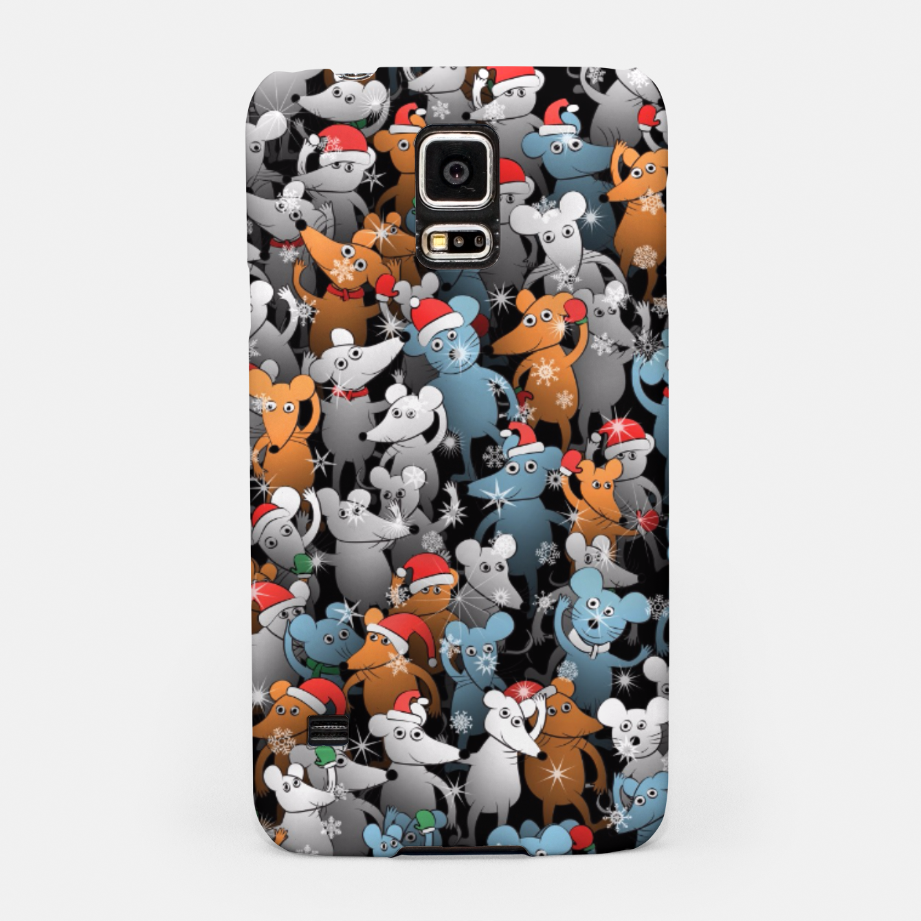Image of Mouse New Year Samsung Case - Live Heroes