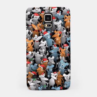 Miniature de image de Mouse New Year Samsung Case, Live Heroes