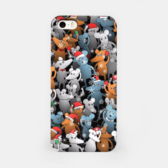 Mouse New Year iPhone Case thumbnail image