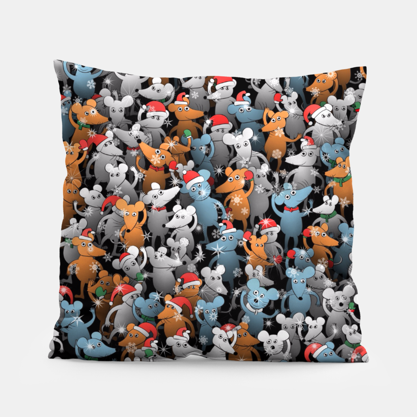 Image of Mouse New Year Pillow - Live Heroes