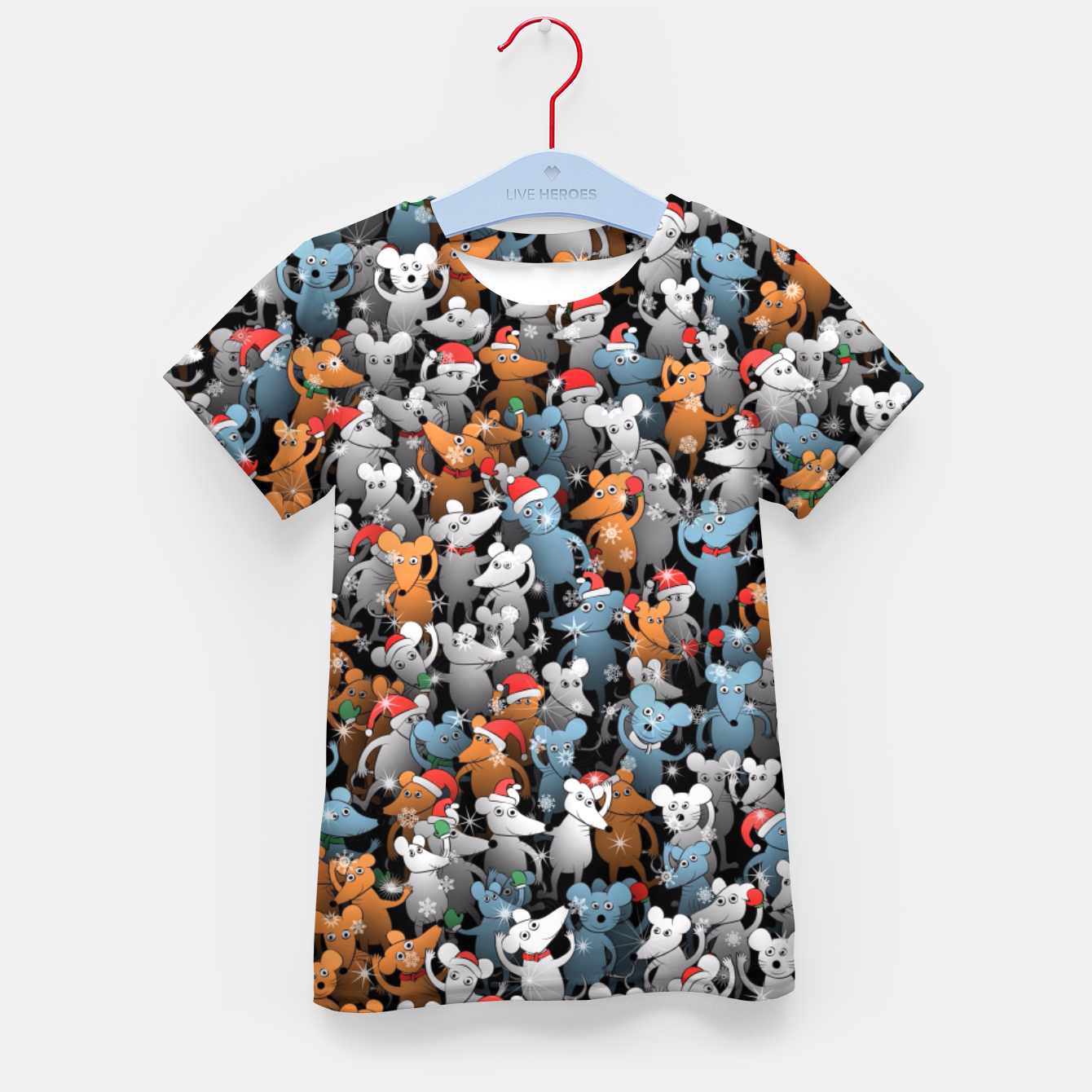 Image of Mouse New Year Kid's t-shirt - Live Heroes