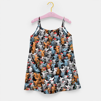 Miniature de image de Mouse New Year Girl's dress, Live Heroes