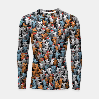 Thumbnail image of Mouse New Year Longsleeve rashguard , Live Heroes