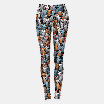 Thumbnail image of Mouse New Year Leggings, Live Heroes