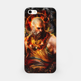 Miniaturka monk iPhone Case, Live Heroes