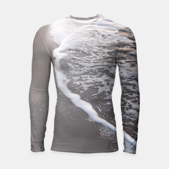 Mystical Sunset Beach Dream #2 #wall #decor #art  Longsleeve rashguard thumbnail image