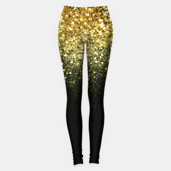 Miniature de image de Sparkling Gold Glitter Glam #1 #shiny #decor #art  Leggings, Live Heroes