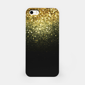 Miniature de image de Sparkling Gold Glitter Glam #1 #shiny #decor #art  iPhone-Hülle, Live Heroes