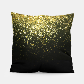Miniature de image de Sparkling Gold Glitter Glam #1 #shiny #decor #art  Kissen, Live Heroes