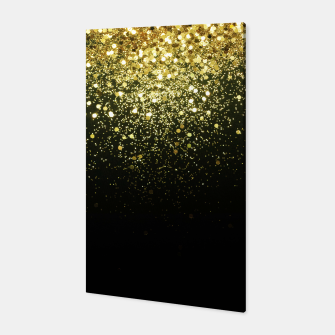 Miniaturka Sparkling Gold Glitter Glam #1 #shiny #decor #art  Canvas, Live Heroes
