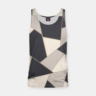 Miniature de image de Neutral Gold Geometric Glam #1 #geo #decor #art Muskelshirt , Live Heroes