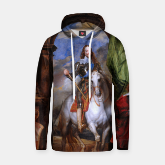 Thumbnail image of Charles I with riding master M. de St Antoine by Anthony van Dyck Hoodie, Live Heroes