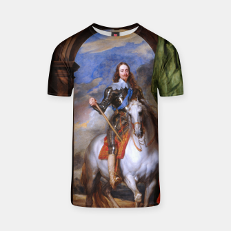 Thumbnail image of Charles I with riding master M. de St Antoine by Anthony van Dyck T-shirt, Live Heroes