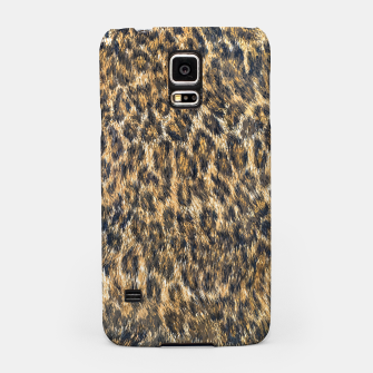 Thumbnail image of Leopard Cheetah Fur Wildlife Print Pattern Samsung Case, Live Heroes